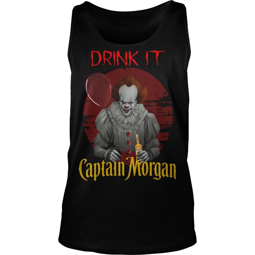 Pennywise Drink IT Captain Morgan Tank Top