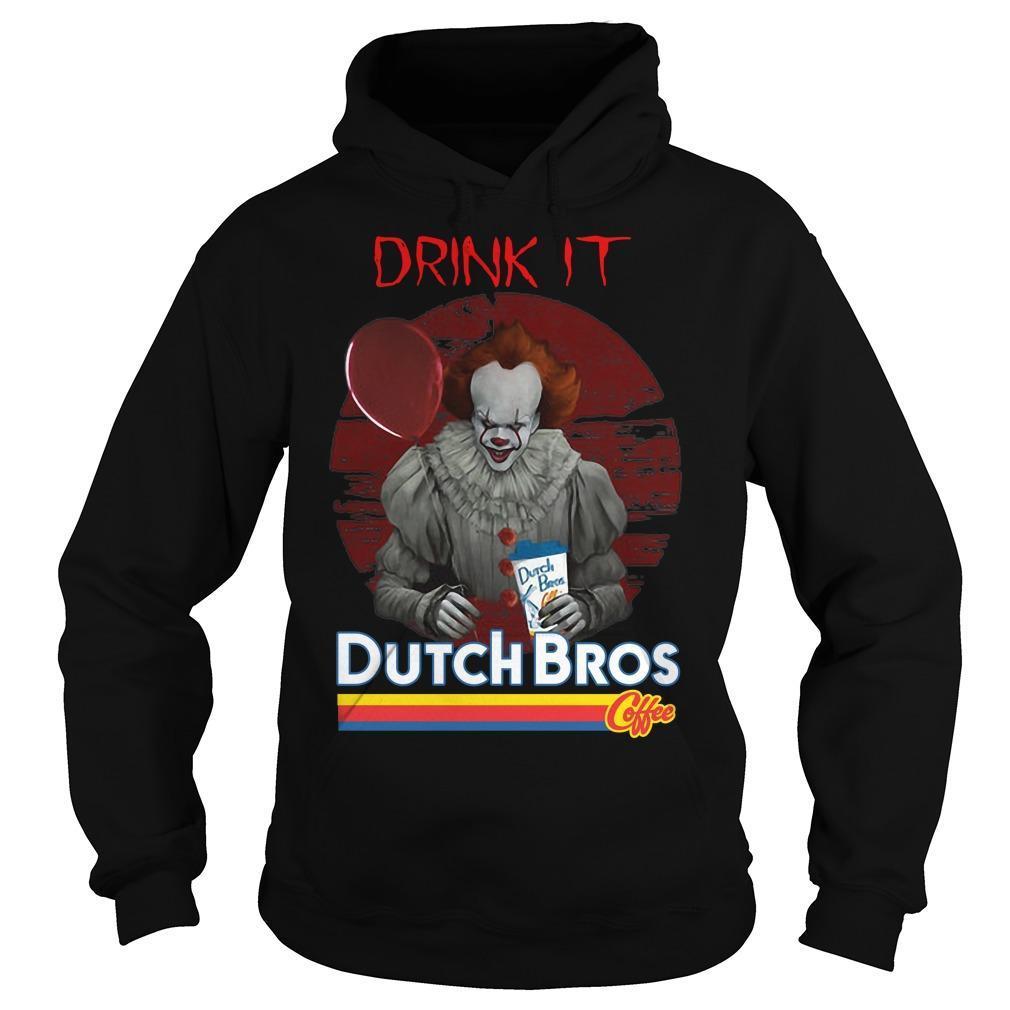 Pennywise Drink IT Dutch Bros Coffee Hoodie