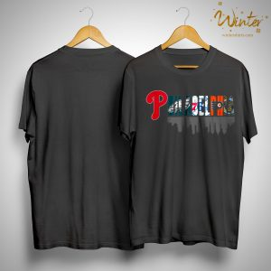 Phillies Eagles 76ers Flyers Philadelphia Shirt