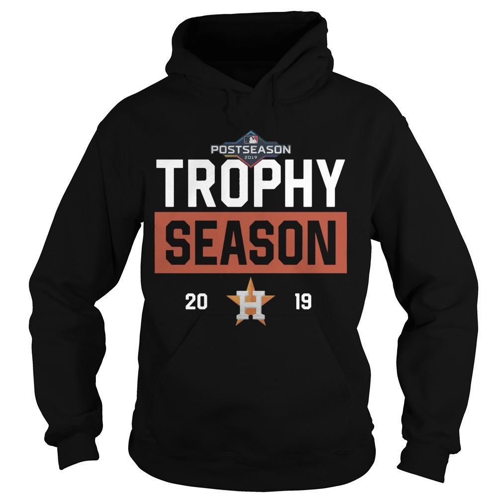 Post Season Houston Astros Trophy Season 2019 Hoodie