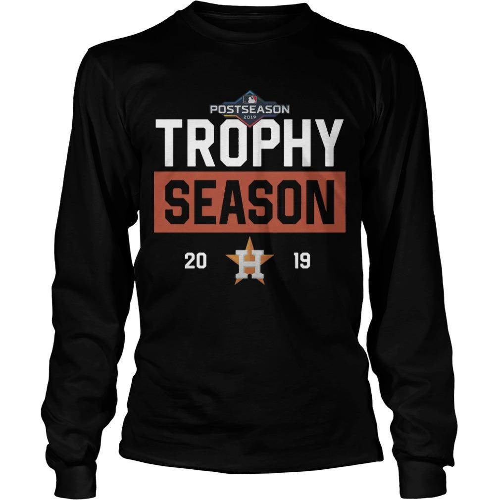 Post Season Houston Astros Trophy Season 2019 Longsleeve