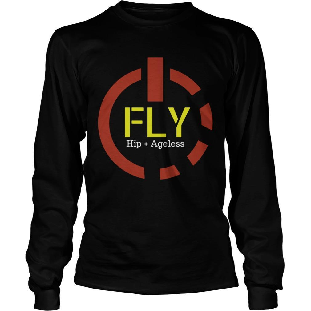 Power Button Fly Hip Ageless Longsleeve