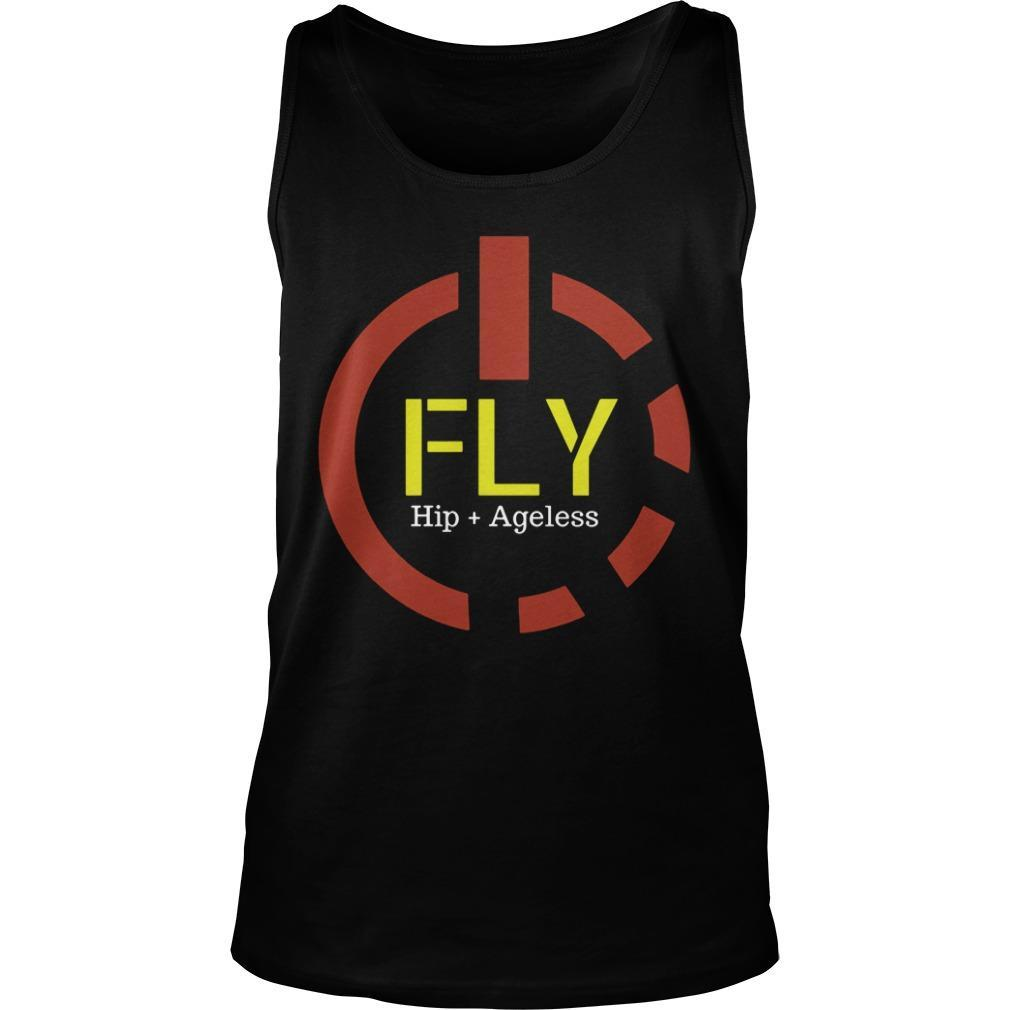 Power Button Fly Hip Ageless Tank Top