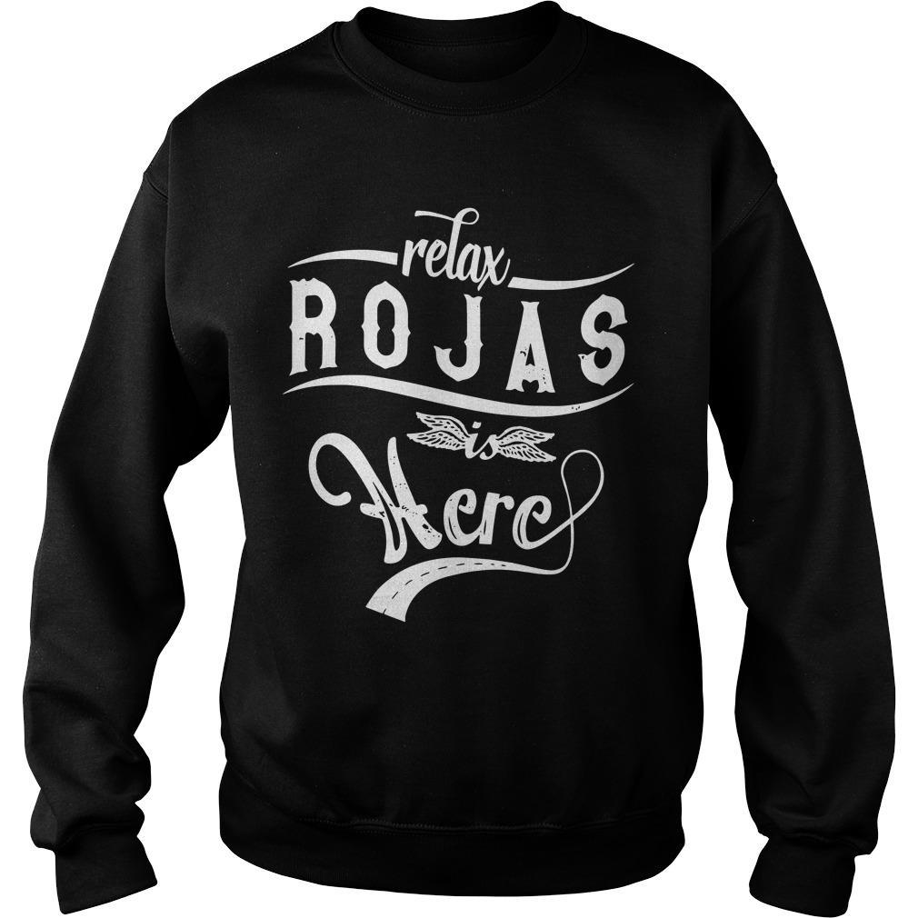 Relax Rojas Is Here Sweater