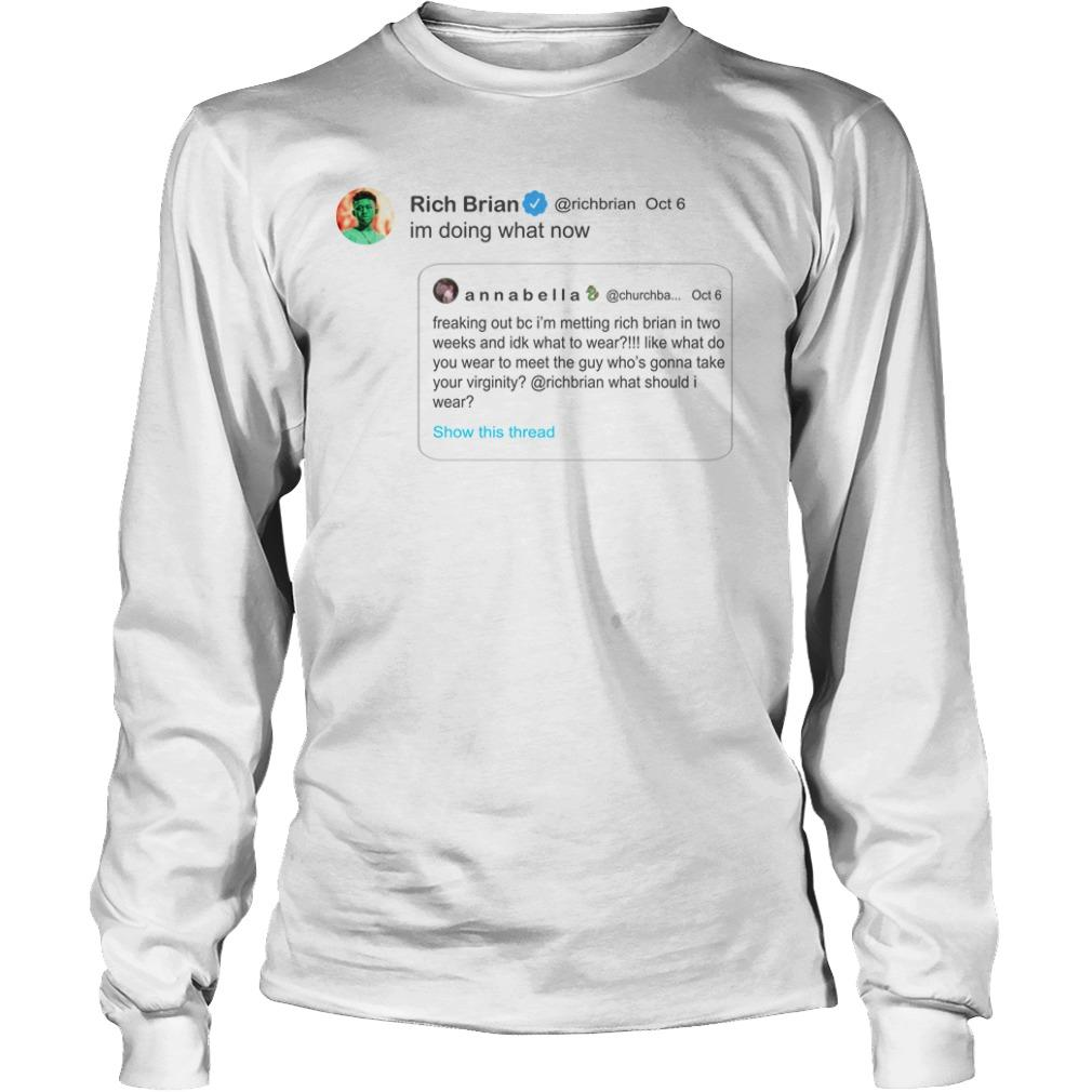 Rich Brian Im Doing What Now Longsleeve