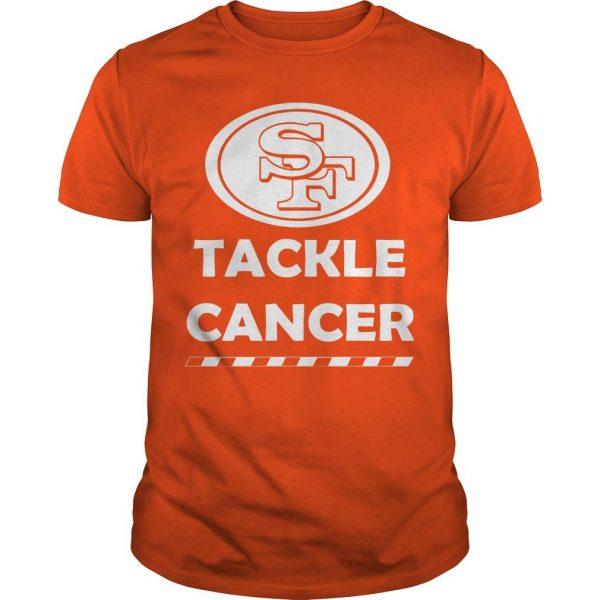 Roman Reigns SF Tackle Cancer Shirt
