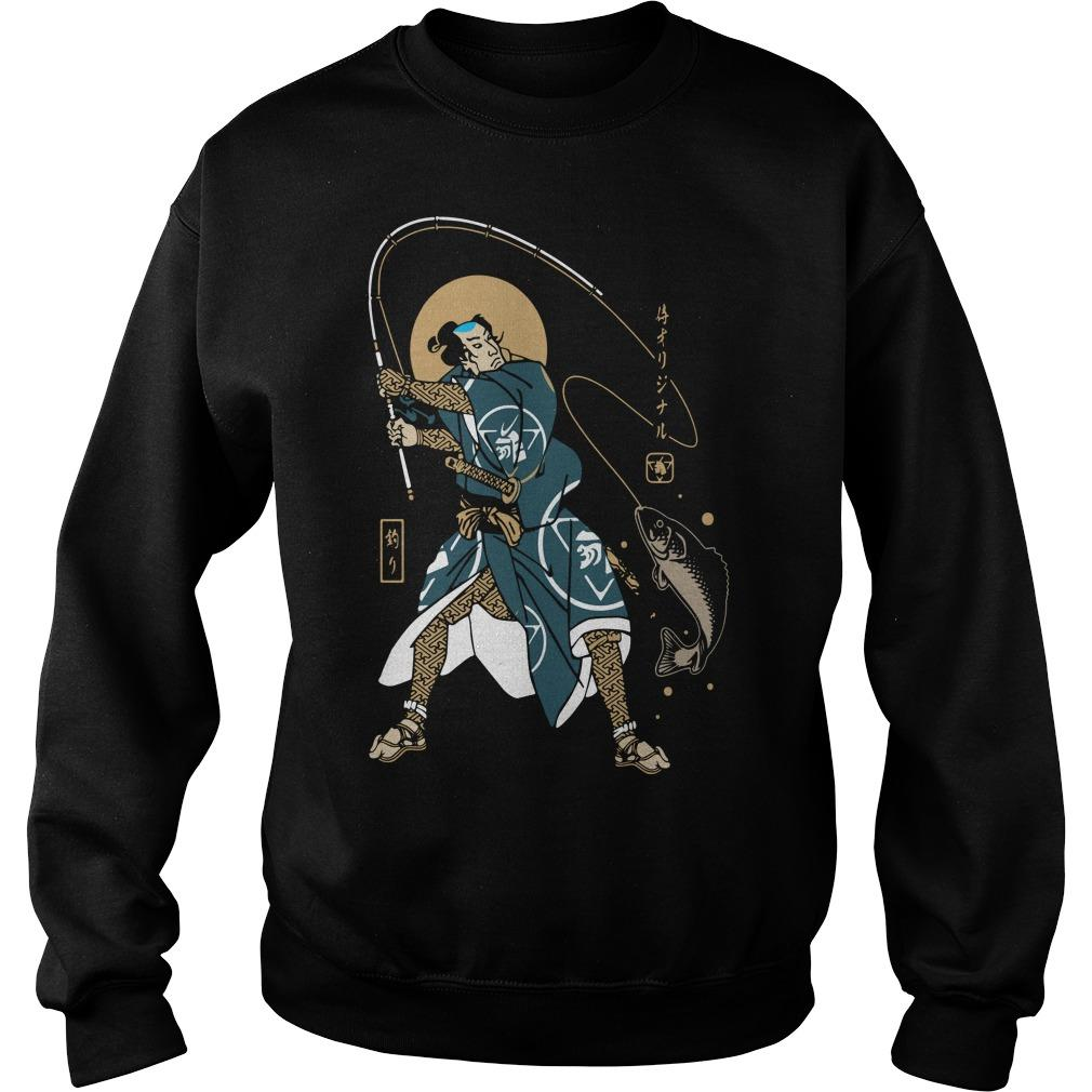 Samurai Fishing Sweater