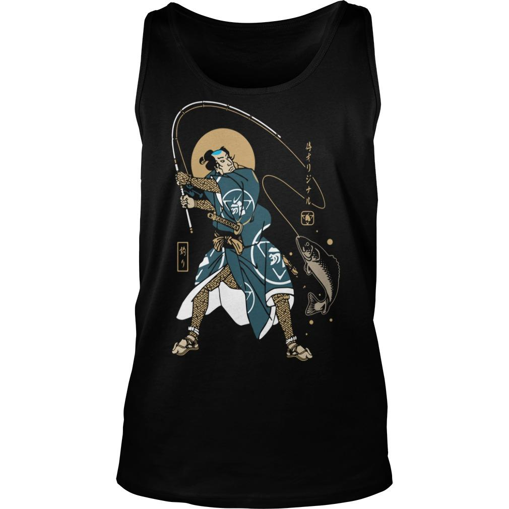 Samurai Fishing Tank Top