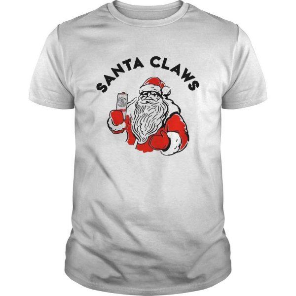 Santa Claus Drinking White Claw Shirt
