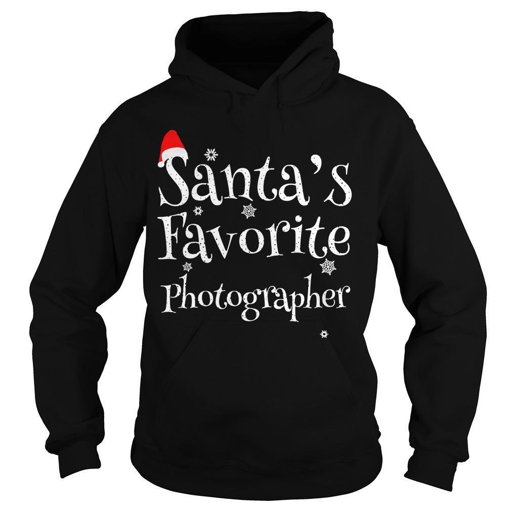 Santa's Favourite Photographer Hoodie