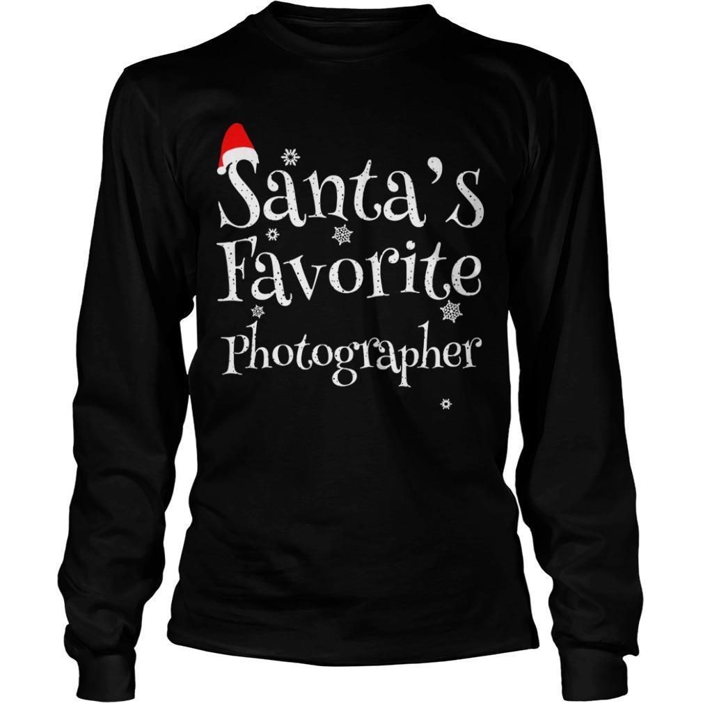 Santa's Favourite Photographer Longsleeve