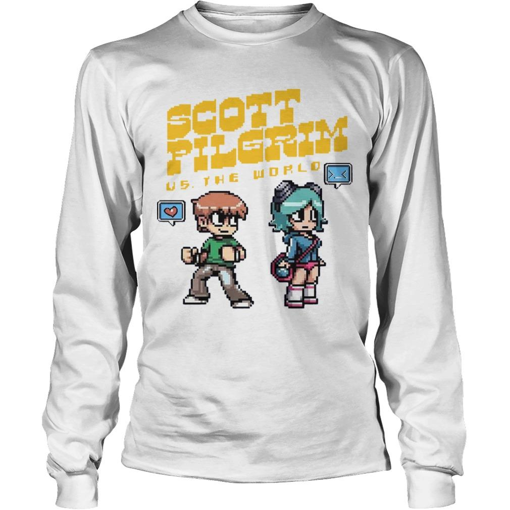 Scott Pilgrim Vs The World Longsleeve