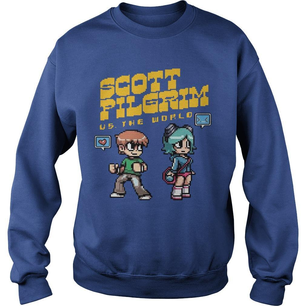 Scott Pilgrim Vs The World Sweater