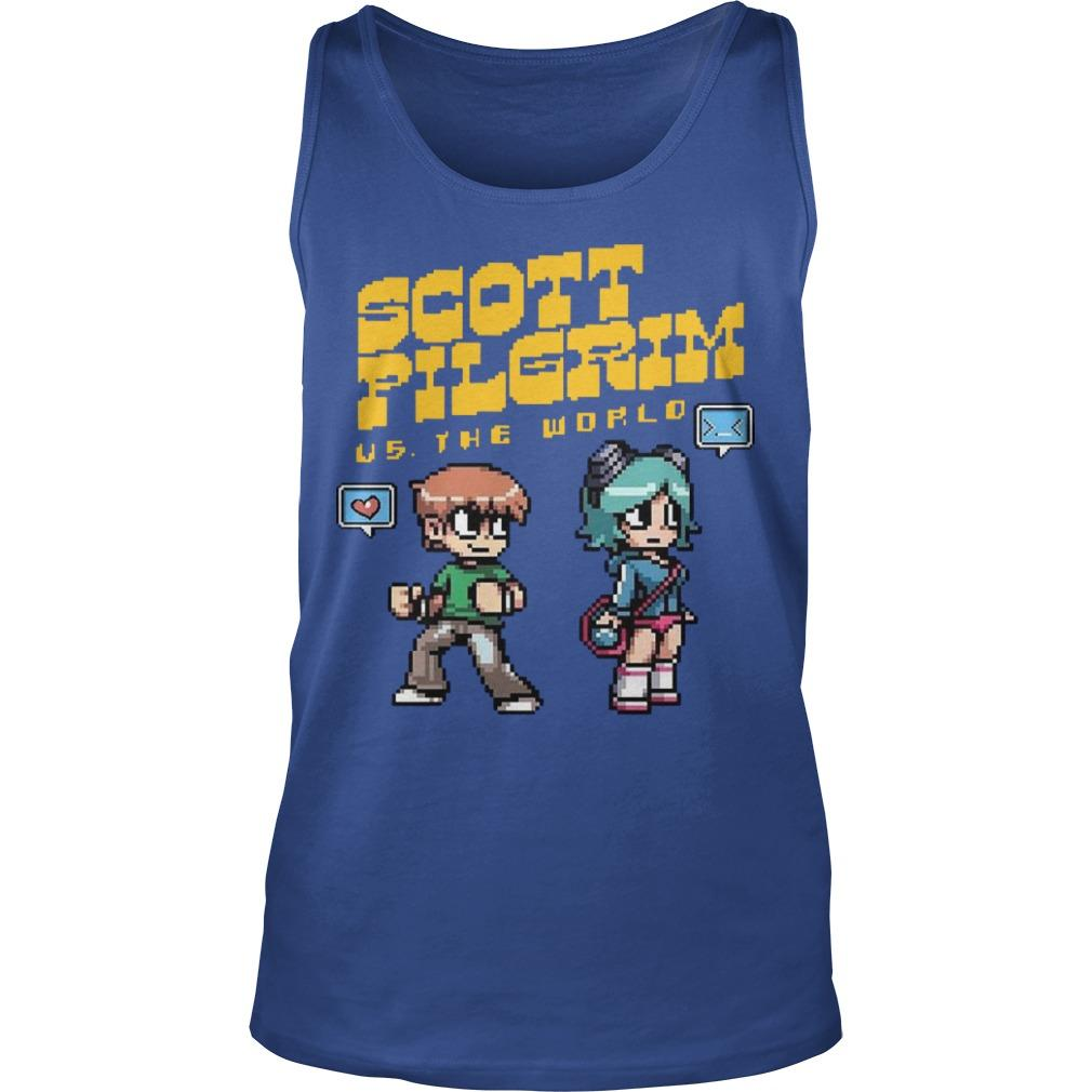 Scott Pilgrim Vs The World Tank Top