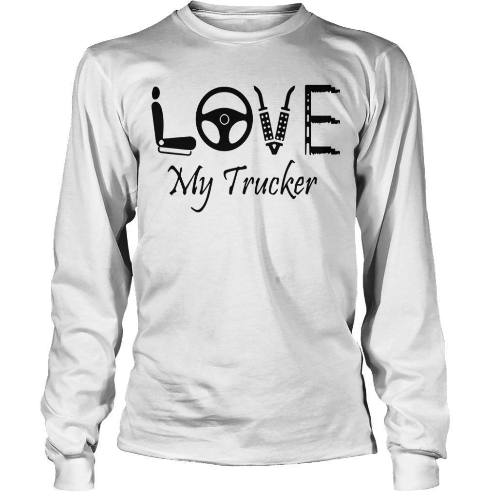 Seat Steering Love My Trucker Longsleeve