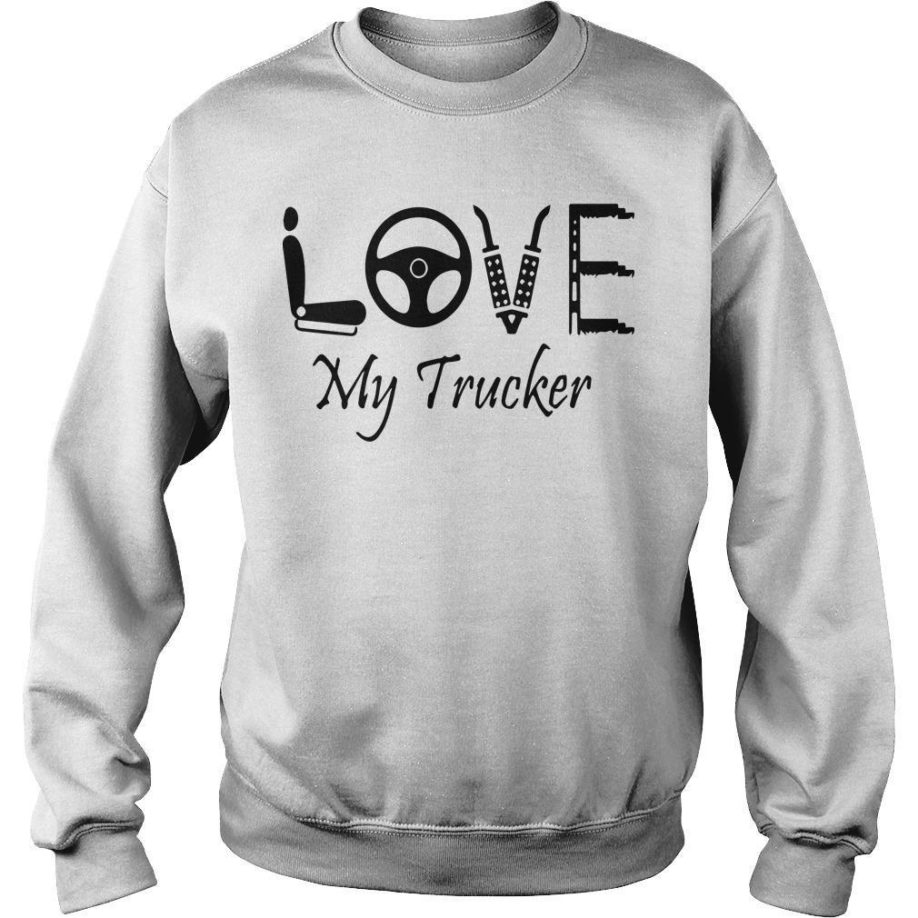 Seat Steering Love My Trucker Sweater