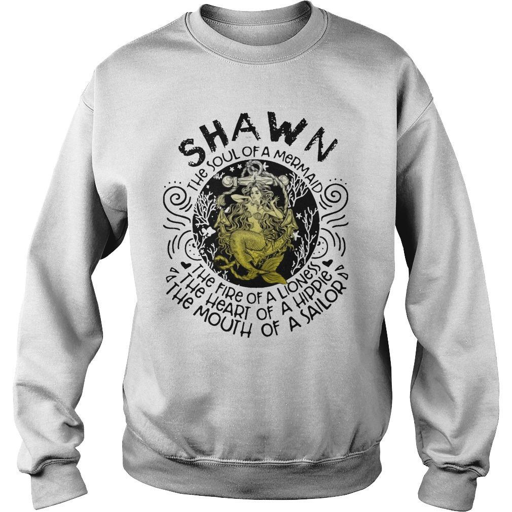 Shawn The Soul Of A Mermaid The Fire Of A Lioness Heart Of Hippie Sweater
