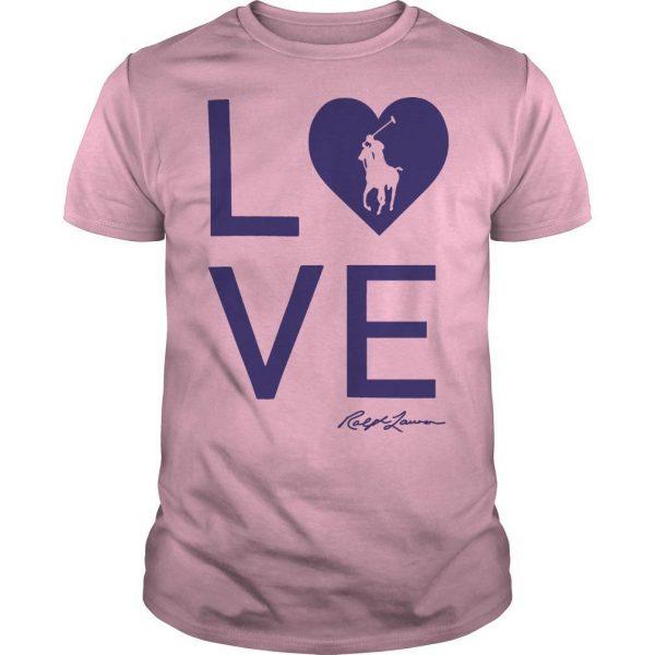 Sheryl Crow Ralph Lauren Breast Cancer Shirt