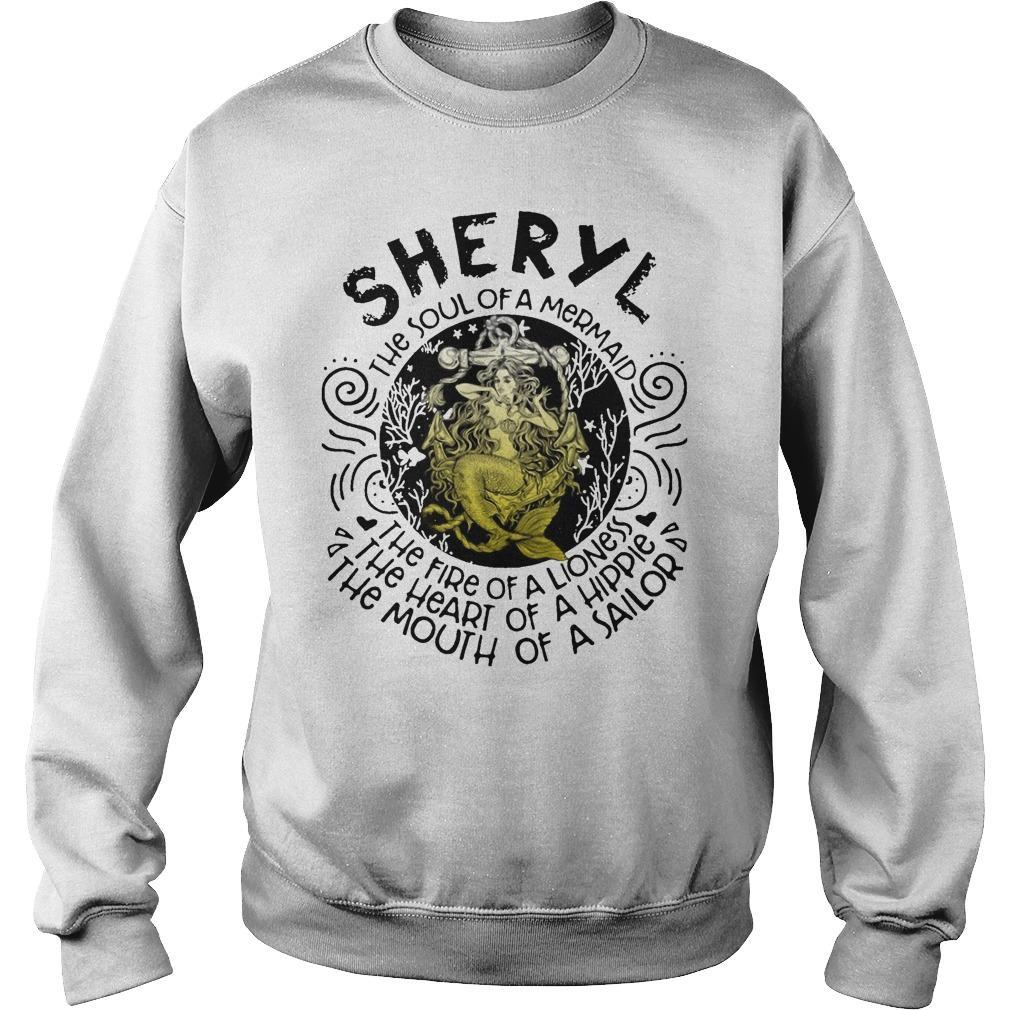 Sheryl The Soul Of A Mermaid The Fire Of A Lioness Heart Of Hippie Sweater