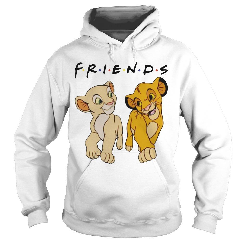 Simba And Nala Tv Show Friends Hoodie