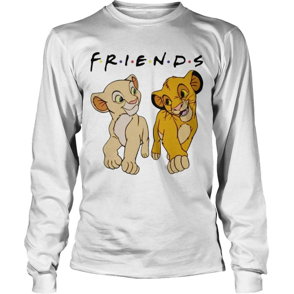 Simba And Nala Tv Show Friends Longsleeve
