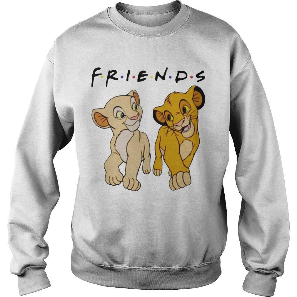 Simba And Nala Tv Show Friends Sweater