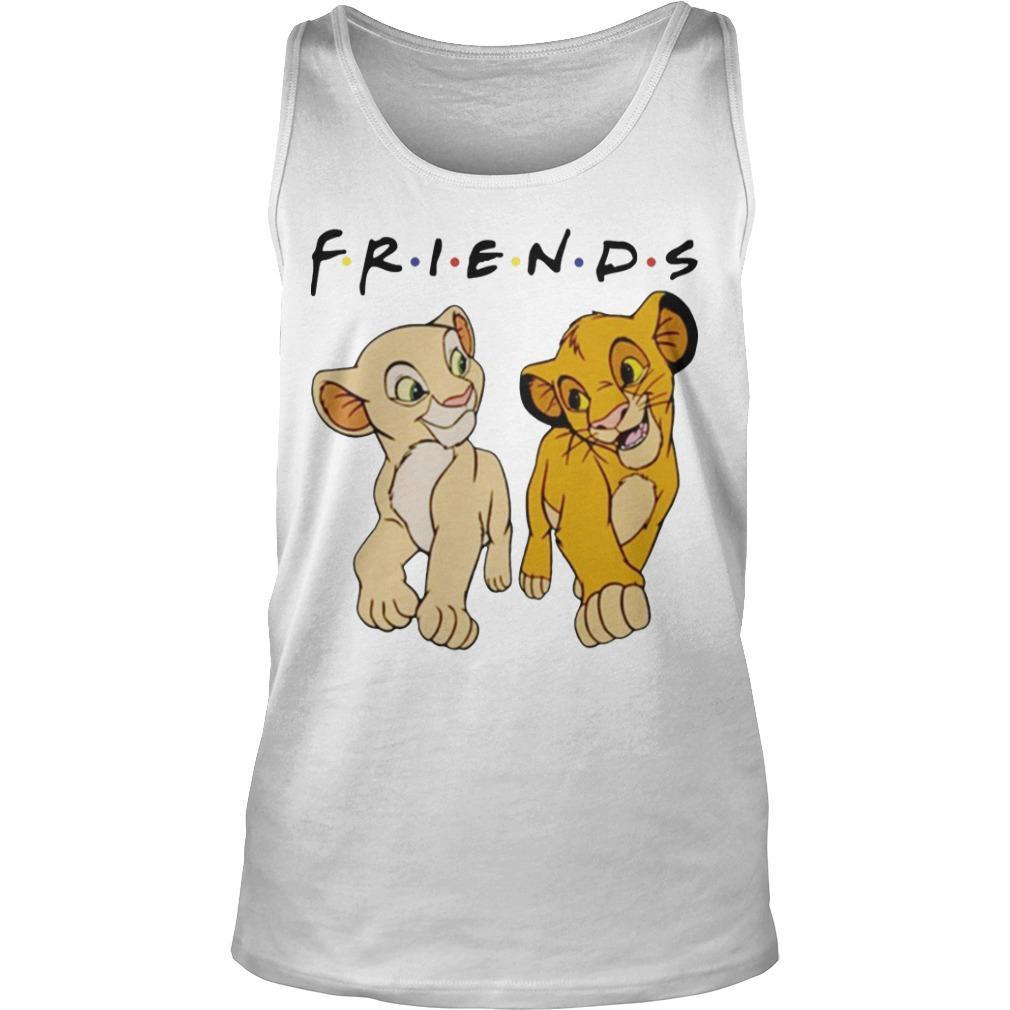 Simba And Nala Tv Show Friends Tank Top