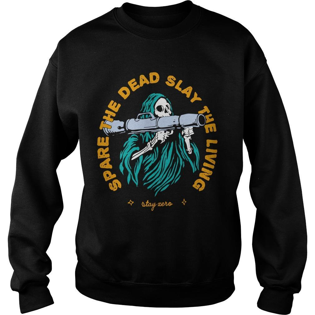 Spare The Dead Slayy The Living Sweater