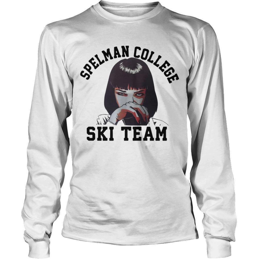 Spelman College Ski Team Longsleeve
