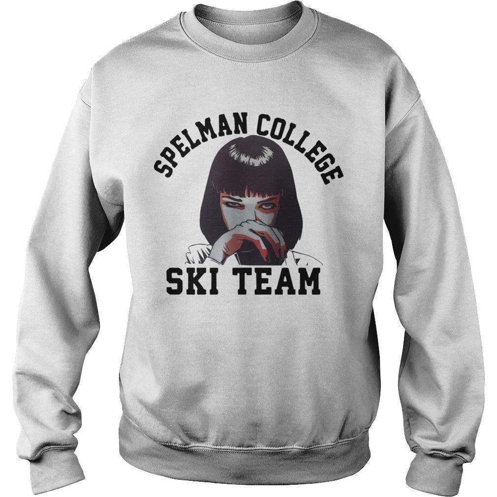 Spelman College Ski Team Sweater