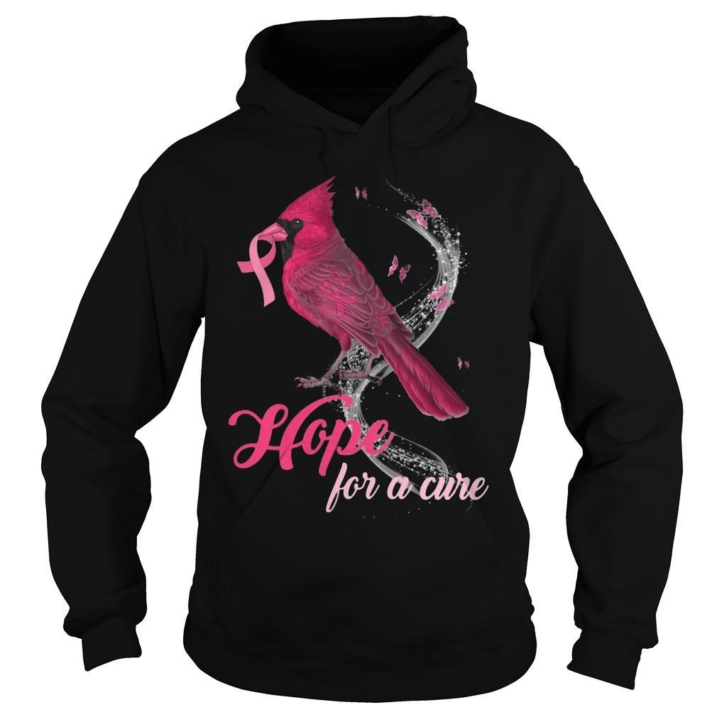 St Louis Cardinal Hope For A Cure Hoodie