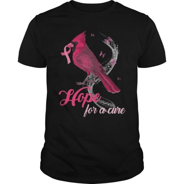 St Louis Cardinal Hope For A Cure Shirt