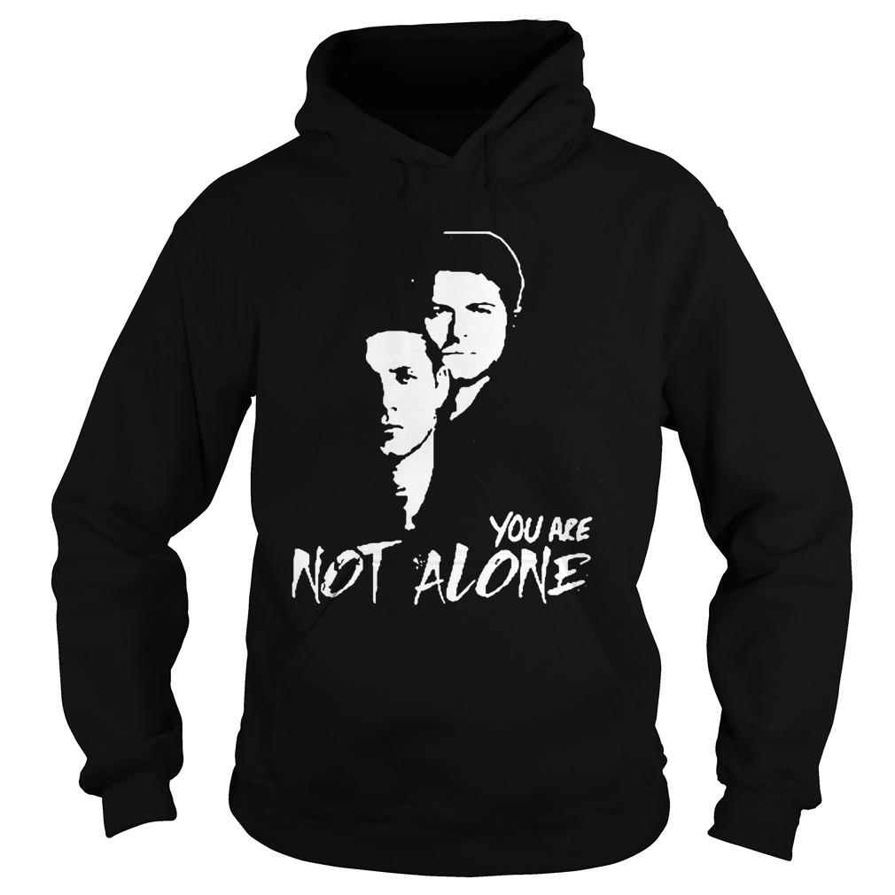 Stabs You Are Not Alone Hoodie