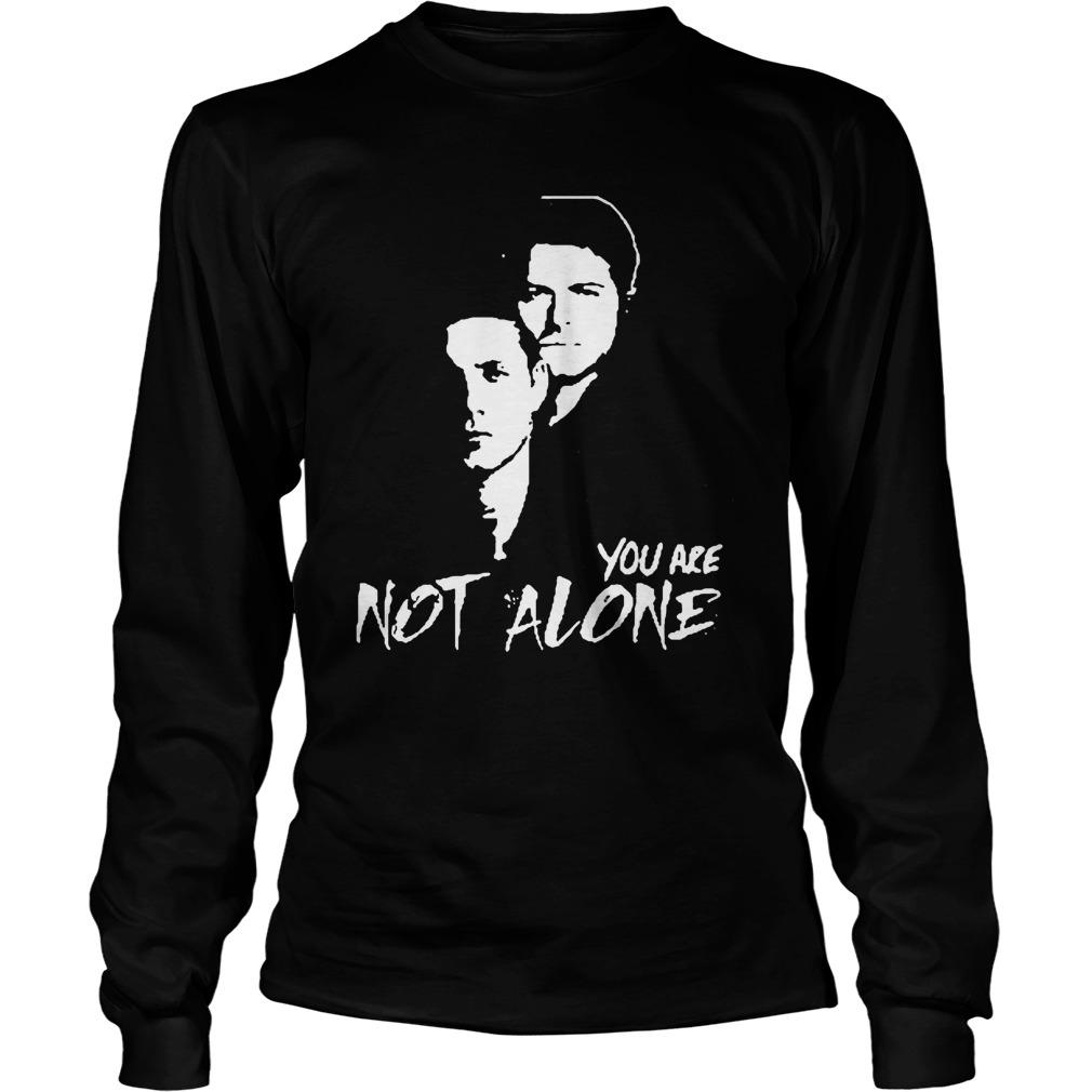 Stabs You Are Not Alone Longsleeve