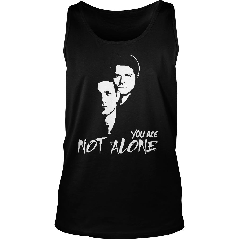 Stabs You Are Not Alone Tank Top