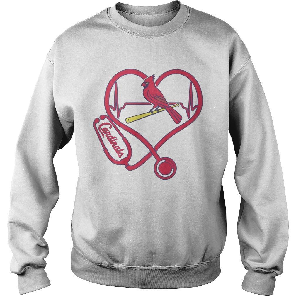 Stethoscope Heart St. Louis Cardinals Sweater