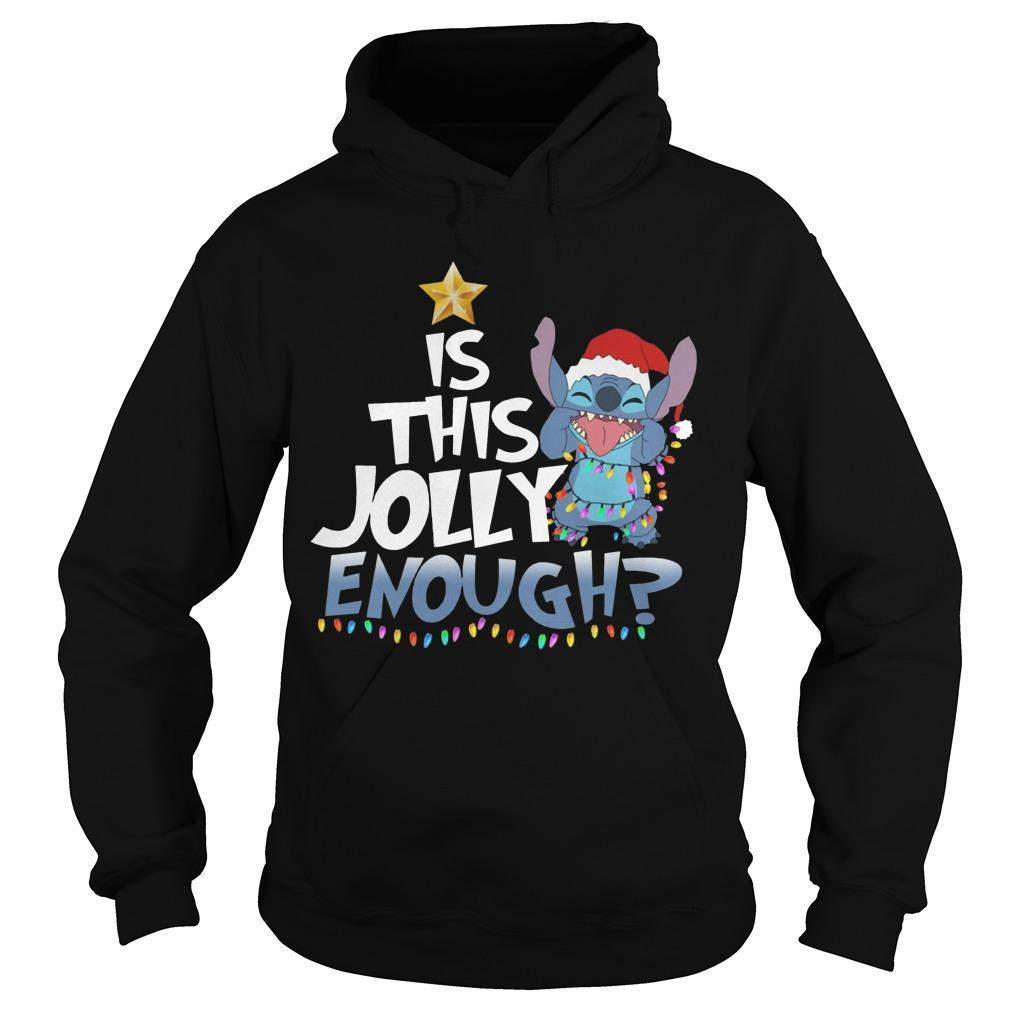 Stitch Is This Jolly Enough Hoodie