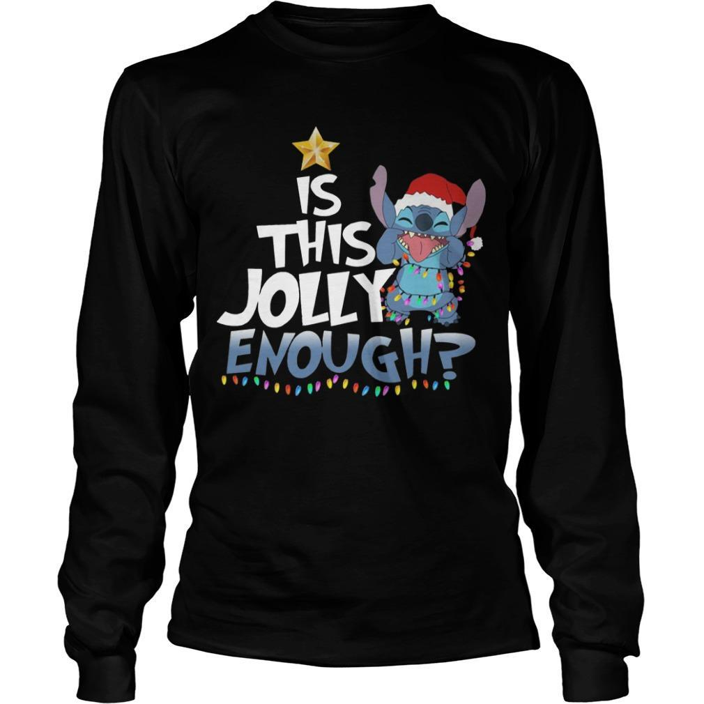 Stitch Is This Jolly Enough Longsleeve