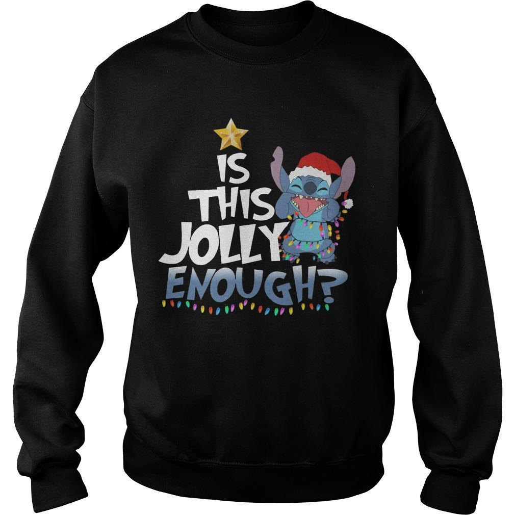 Stitch Is This Jolly Enough Sweater