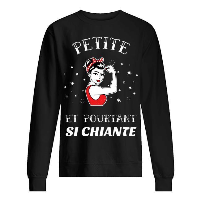 Strong Woman Petite Et Pourtant Si Chiante Sweater