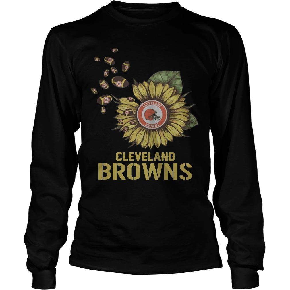 Sunflower Cleveland Browns Longsleeve