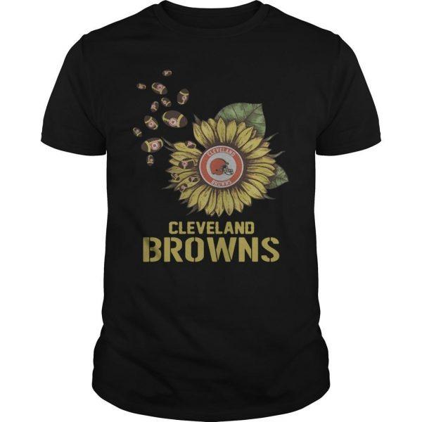 Sunflower Cleveland Browns Shirt