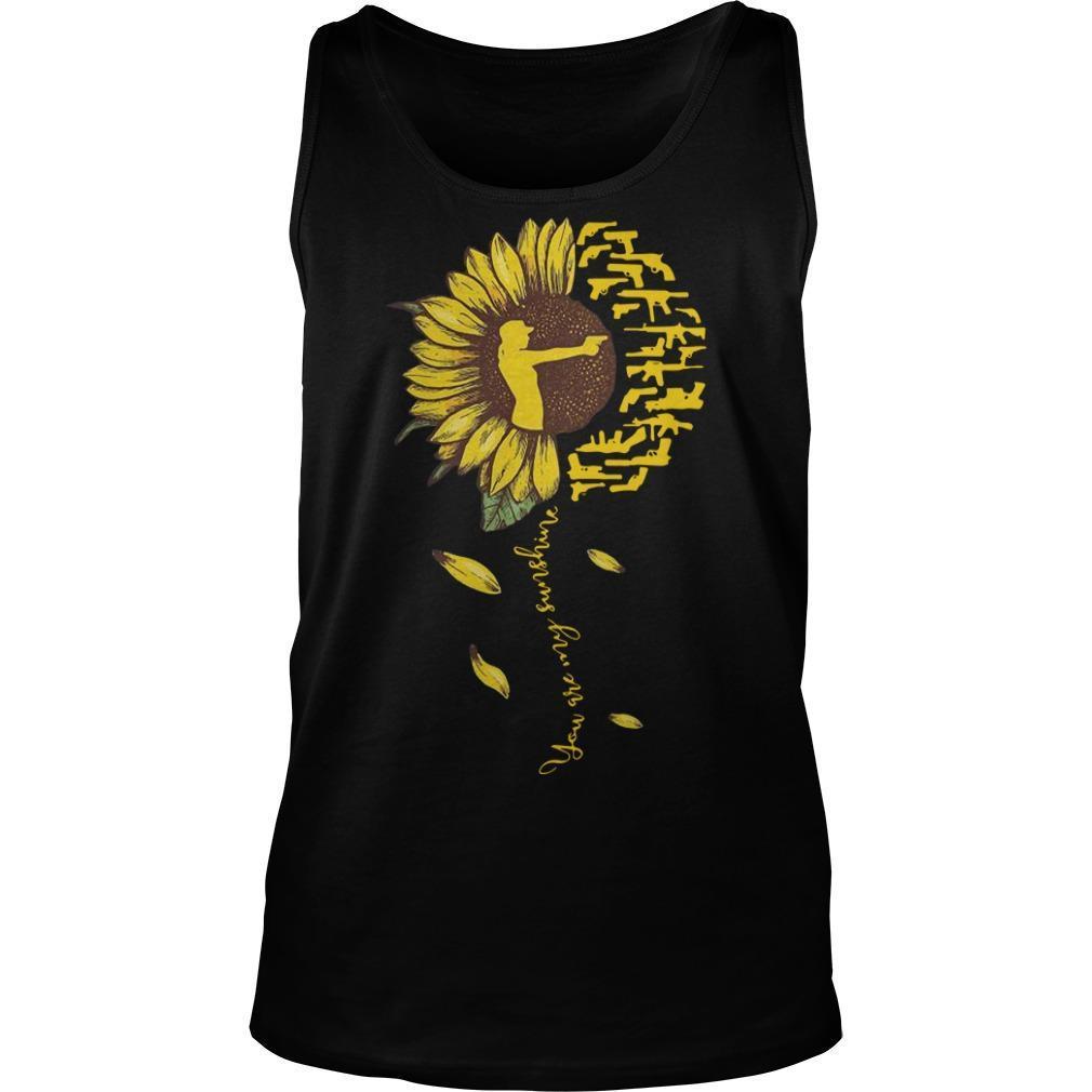 Sunflower Hunter You're My Sunshine Tank Top