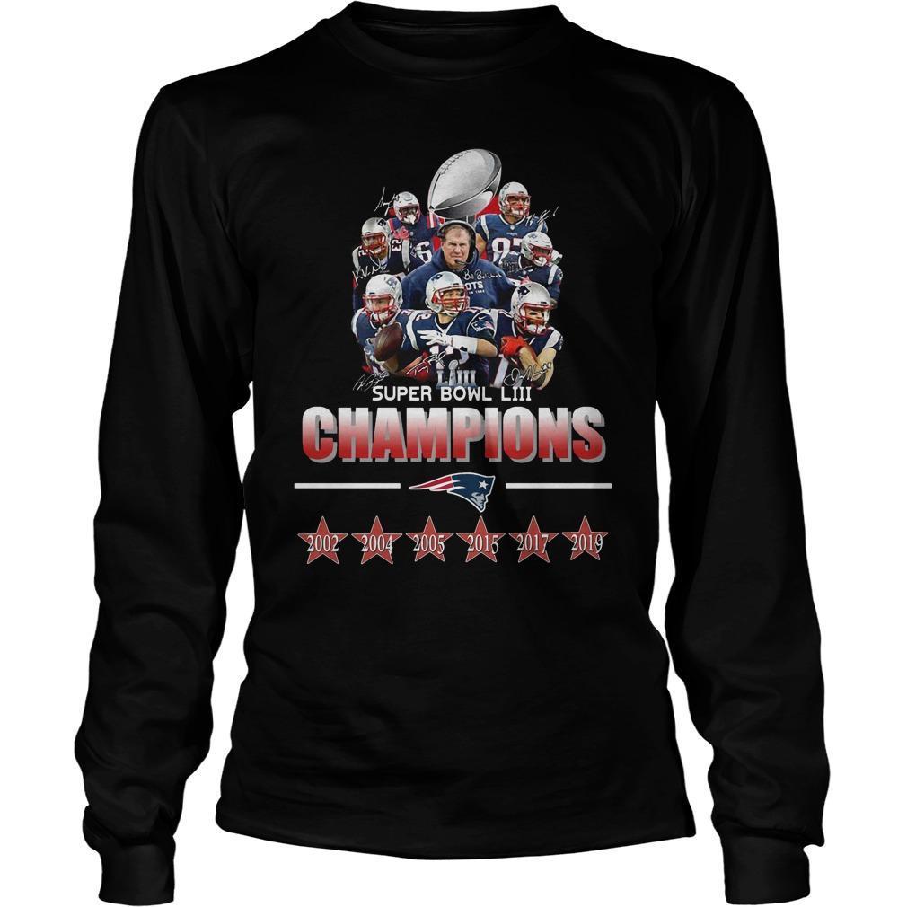 Super Bowl LIII Champions Longsleeve