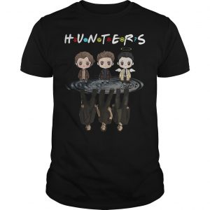 Supernatural Chibi Water Reflection Hunters Shirt