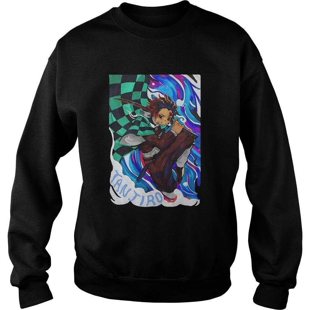 Tanjiro Kimetsu No Yaiba Demon Slayer Sweater