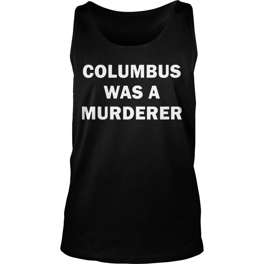 Teacher Columbus T Controversy Tank Top