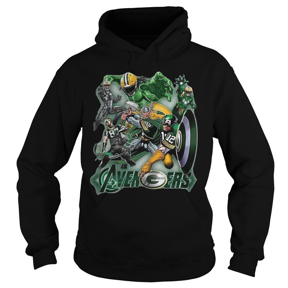 The Avenger Green Bay Packer Team Hoodie