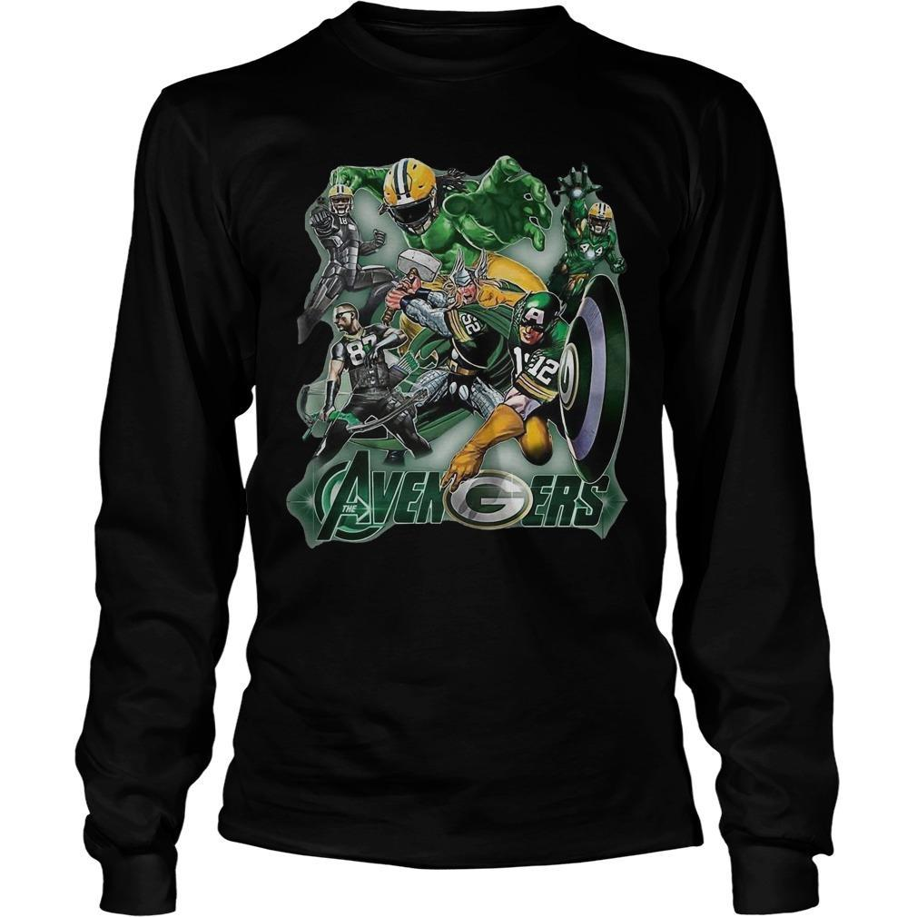 The Avenger Green Bay Packer Team Longsleeve