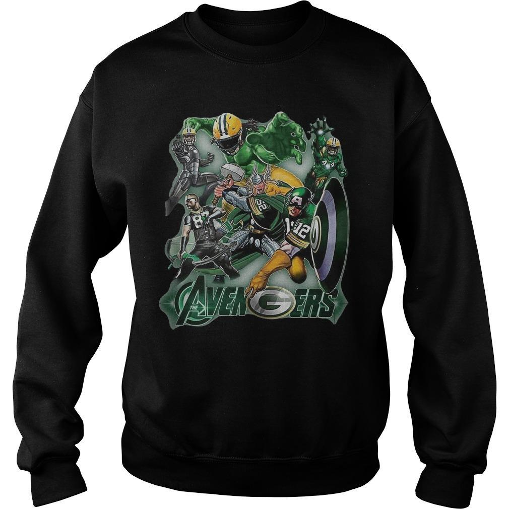 The Avenger Green Bay Packer Team Sweater